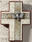 "Confirmation Wall Cross - ""Grow in the Grace of the Lord"""