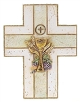 "First Communion Wall Cross (7"")"
