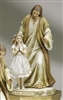 "Statue - First Communion Praying Girl with Jesus (9.5"")"