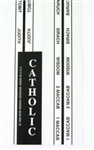Bible Tabs - Catholic (Standard)
