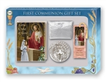 First Communion Gift Set 6-pc Girl Child of God Deluxe Edition