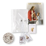First Communion Gift Set 5-pc Girl Child of God Book