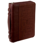 Bible Cover - Names of Jesus (Medium, Two-toned)