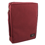 Bible Case - Burgundy, Super Value (Medium)