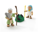 Action Figure Set - Moses and the 10 Plagues - 3""