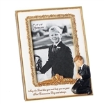 "First Communion Boy Picture Frame - 8"" (4x6)"