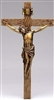 "Crucifix - 14"" Antique Gold"