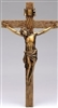 "Crucifix - 8.5"" Antique Gold"