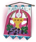 Banner Kit First Communion: Girl (Gate and Chalice Design)