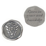 Confirmation Wax Seal Pocket Token 1""