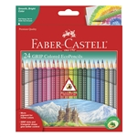 Colored Pencil Set - Triangular (24 piece)