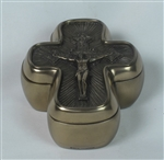 Crucifix Trinket Box