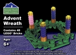 Advent Wreath (Contains 48 LEGO Bricks)