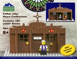 Father John Hears Confessions (Contains 185 LEGO Bricks)