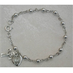 Bracelet - Sterling Silver 4MM Bead