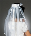 "First Communion Veil ""Wendy"""