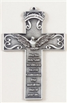 Plaque - Confirmation Genuine Pewter Cross