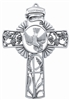 "Cross - 5"" Confirmation (Antique Pewter)"
