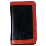 Breviary Cover - Black Leather with Real Leather Border