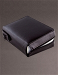 Breviary Case - Black Padded Leather