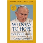 Witness to Hope: The Biography of Pope John Paul II (1920-2005)