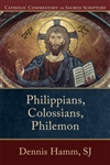Philippians, Colossions, Philemon: Catholic Commentary on Sacred Scripture