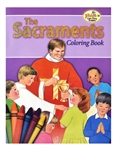 Sacraments Coloring Book, The