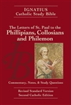 Ignatius Catholic Study Bible: The Letters of St. Paul to the Philippians, Colossians, and Philemon