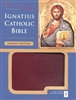 Ignatius Bible (Compact) - Burgundy with Zipper