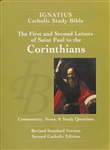 Ignatius Catholic Study Bible: The First and Second Letter of St. Paul to the Corinthians (2nd Edition)