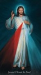 Holy Card Chaplet of Divine Mercy H