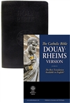 Douay Rheims Bible Red Letter