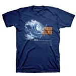 Find a Wave Adult T-Shirt
