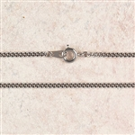 Chain 20-in Rhodium Plate