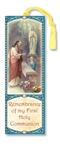 First Communion Laminated Bookmark (Boy)