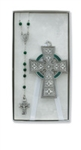 Baby Cross & Rosary Set Irish