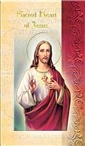 Biography Card Sacred Heart of Jesus