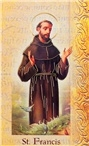 Biography Card St. Francis of Assisi