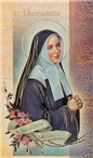 Biography Card St. Bernadette