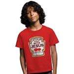 Catch Up with Jesus Kids T-Shirt