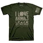 Animals Adult T-Shirt