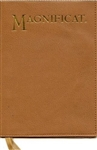Magnificat: Tan Leather Cover