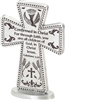 "Confirmation Standing Cross 3"" Pewter"
