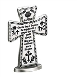 Baptism Cross Standing 3""