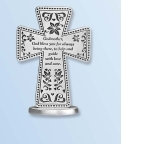 Standing Cross Godmother Pewter
