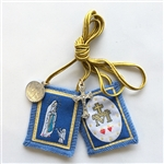 Immaculate Conception Blue Scapular