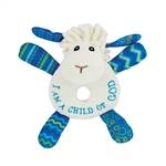 Levi the Little Lamb Rattle (Lil' Prayer Buddy)