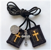 Crusader's Brown Scapular 30-in Cord