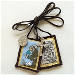 St. Anthony Brown Scapular