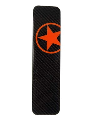 Polyurethane Orange Stare Downtube Protector